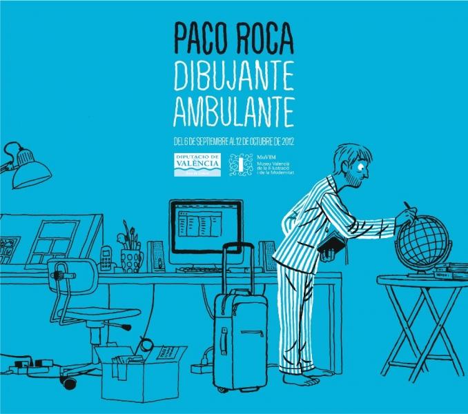 Exposición de Paco Roca en el MUVIM